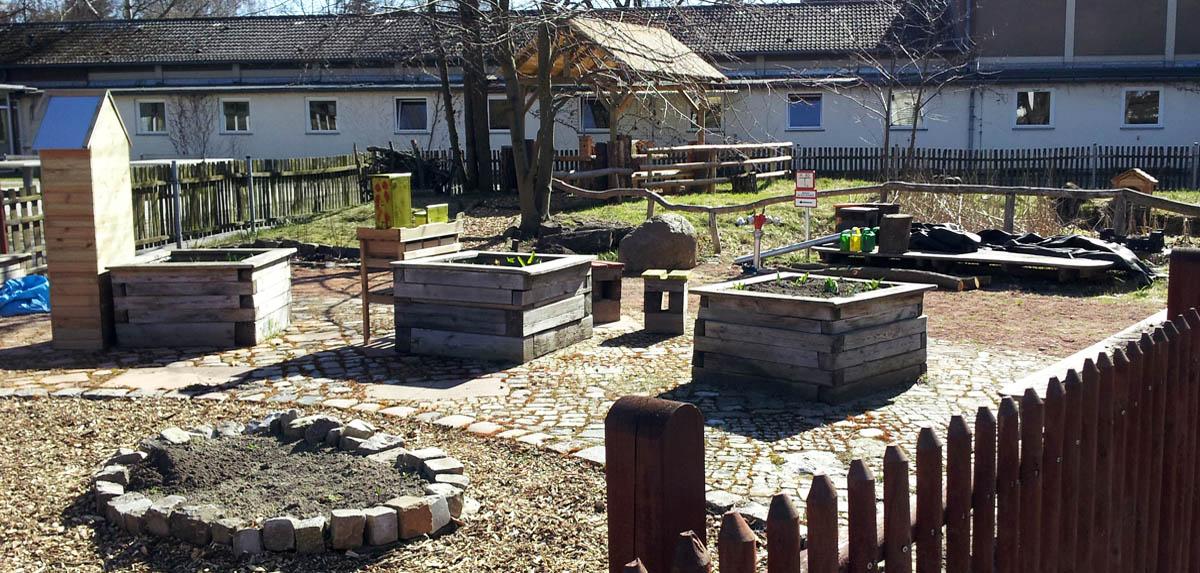 Schulgarten Eichenwald Grundschule