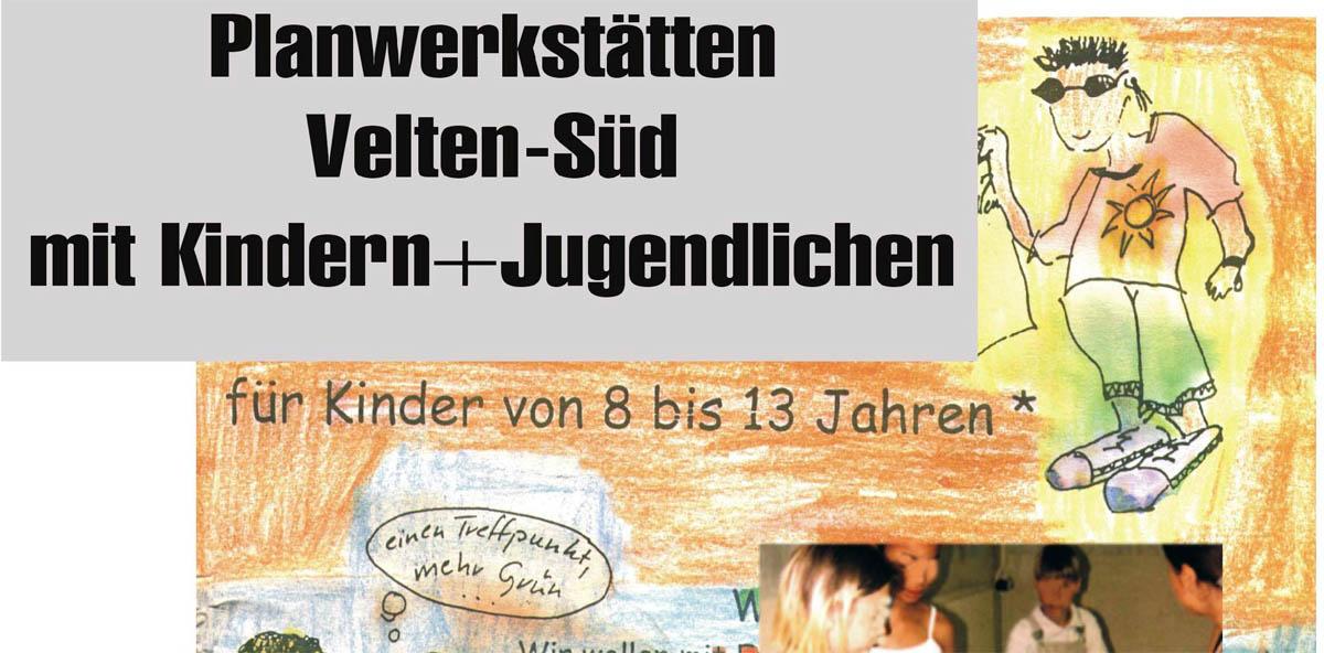 Broschüre Planwerkstätten Velten-Süd